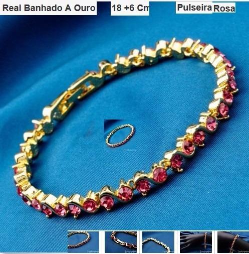 18 K Folheado-bracelete Cores