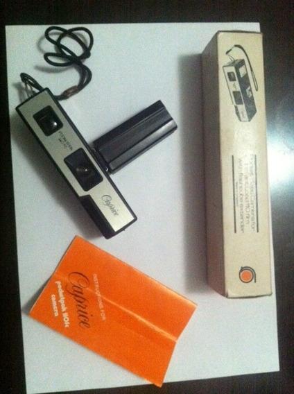Câmera Analógica Caprice Pocketpak 110fc Frete Grátis 12xsj