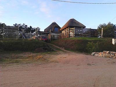 Vendo, Permuto, Casa C/terreno Punta Del Diablo A 600m Playa