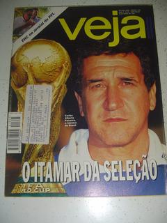 Revista Veja 1345 Parreira Favela Rj Bangu Monroe Copa 1994