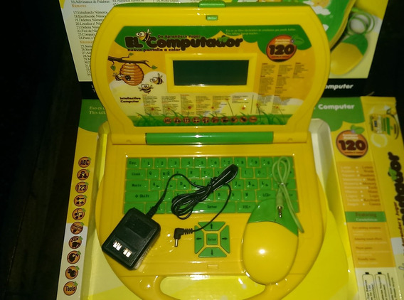 Computadora Educativa Unisex Ing Y Esp 120 Fun Mouse Y Adapt