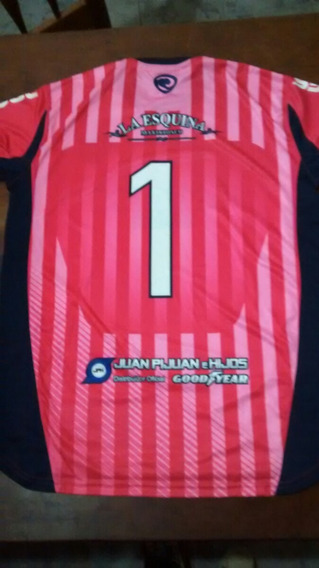 Camiseta De Arquero Rosa . Atletico San Jerónimo