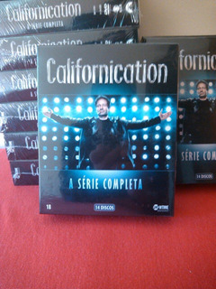Californication A Série Completa (14 Dvds) Original Lacrado
