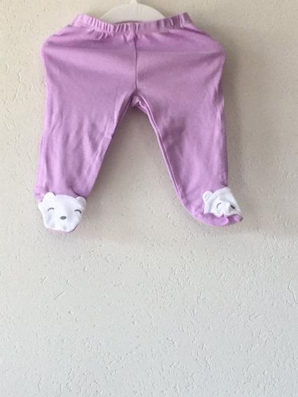 Pantaloncitos Con Patitas De Osito, Talle 3 Meses Carters