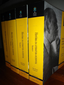História Da Literatura Ocidental -otto Maria Carpeaux (raro)