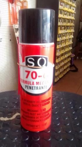 Formula Mecanica Marca Sq 70-6 Penetrante De 354 Ml.