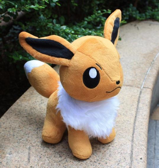Pelúcia Eevee Pokémon Nintendo - Tamanho: 28cm