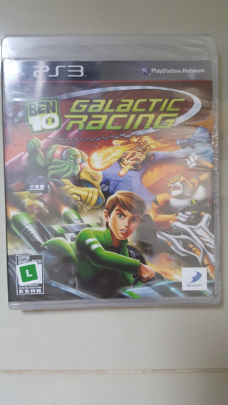 Jogo Ps3 - Ben 10 Galactic Racing - Original Lacrado