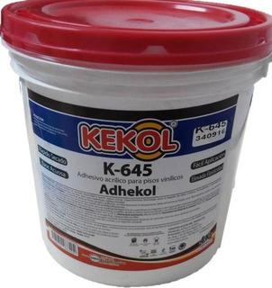 Adhesivo Acrílico Piso Vinilico Kekol Tacho De 4 Kg