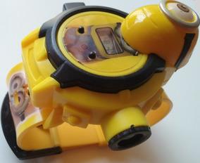 Relógio Brinquedo Infantil Com Projetor Imagem Os Minions