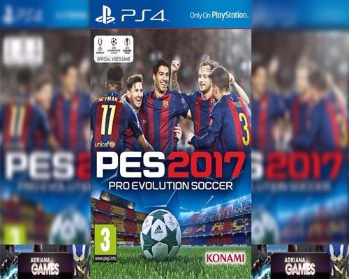 Pes 2017 Ps4 Jogo Digital Psn Completo Playstation 4