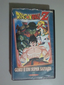 Fita Vhs Dragonballz - Goku É Um Super Saiyajin