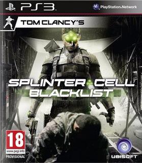 Tom Clancys Splinter Cell Blacklist Ps3 Completo Entrega Hoy