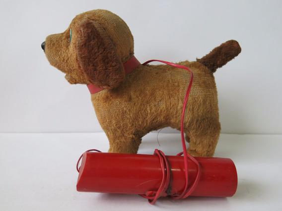 Cachorro De Pelúcia C/ Controle Remoto Estrela Antigo