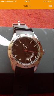 Reloj Puma Acero Nuevo
