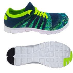 Zapato Tenis Casual Dama Verde Zdk-t003 Kappa