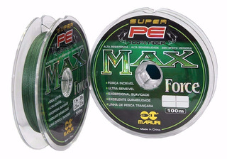 Linha Pesca Multifilamento Maruri Max Force 0.20mm 1.000m