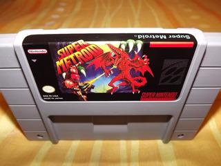 Super Metroid Español O Ingles Repro Super Nintendo Snes