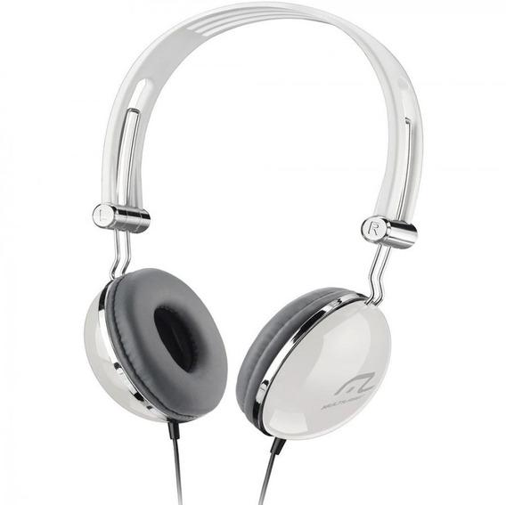 Fone De Ouvido Headphone Pop Branco Ph054 - Multilaser