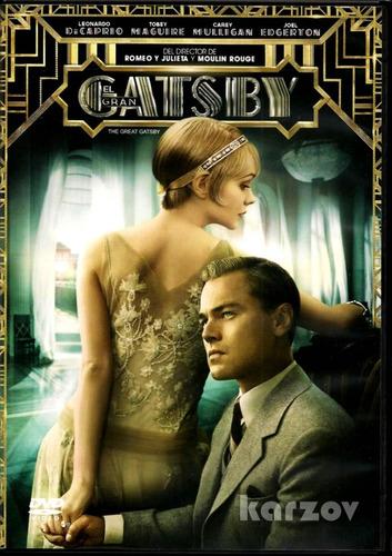 El Gran Gatsby Great Gatsby Leonardo Dicaprio Pelicula Dvd
