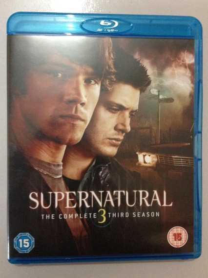 Supernatural Terceira Temporada Blu Ray (3 Discos)