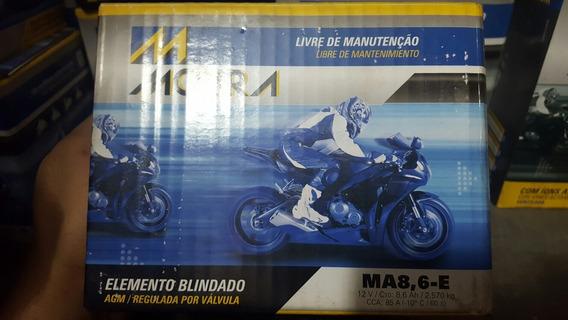 Bateria Moto Moura 8,6ah Ytz10s Hornet R1 R6 Bmw Cbr600 Rr