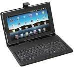 Capa Case Couro Teclado Tablet 7 Usb