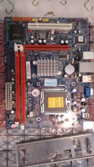Placa Mãe Megaware 775 Ddr 3 G41t-m7