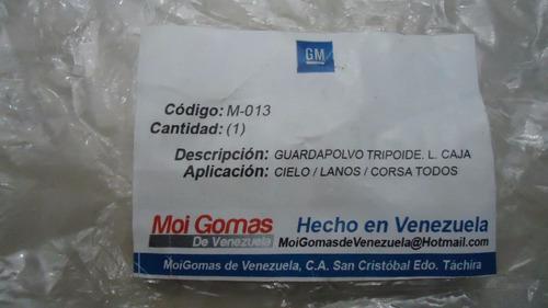 Kit Goma De Tripoide Lado Caja Cielo Lanos Corsa M-013 Rd