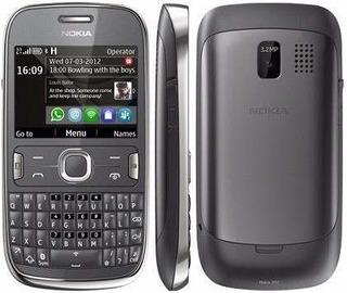 Aparelho Celular Nokia Asha 201 Grafite Pronta Entrega
