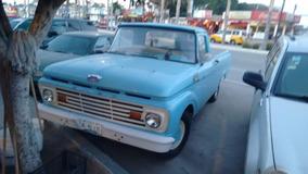 Camioneta F100 Unibody 1963 Std 149000 Millas Original