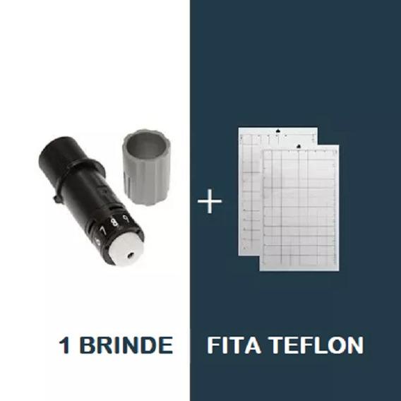 2 Laminas + 2 Bases De Corte A4 (portátil) + Fita Teflon