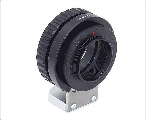 Adaptador B4 2/3 Canon Fujinon Para M43 Blackmagic Lumix Jvc