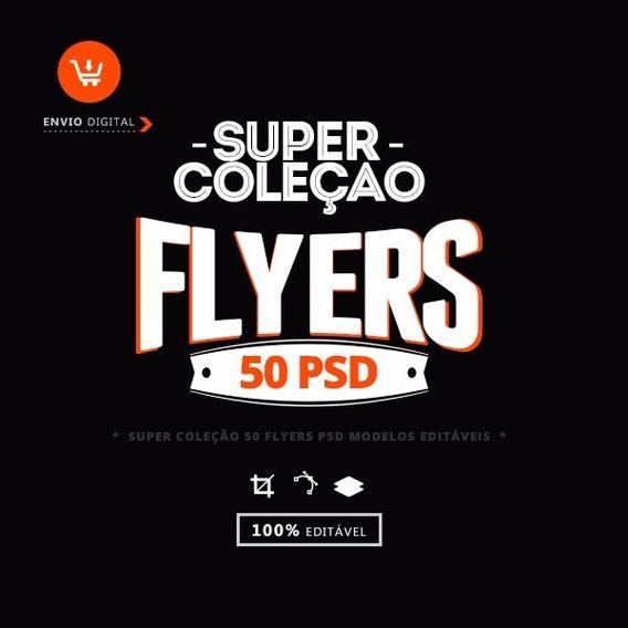 Super Coleção Flyers Editaveis Profissionais