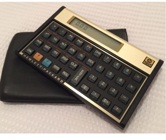 Calculadora Hp 12c - Calculadora Financeira (semi-nova)