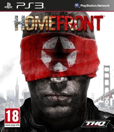 Jogo Homefront Playstation 3 Ps3 Mídia Física Guerra Fps