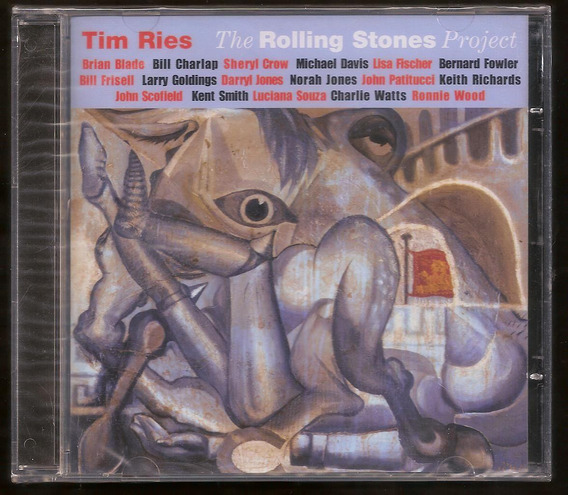Cd Tim Ries - The Rolling Stones Project - Lacrado
