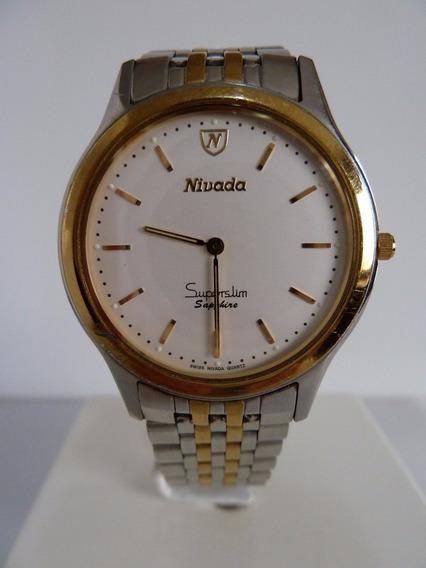 Reloj Nivada Superslim P / Caballero (inv 904)