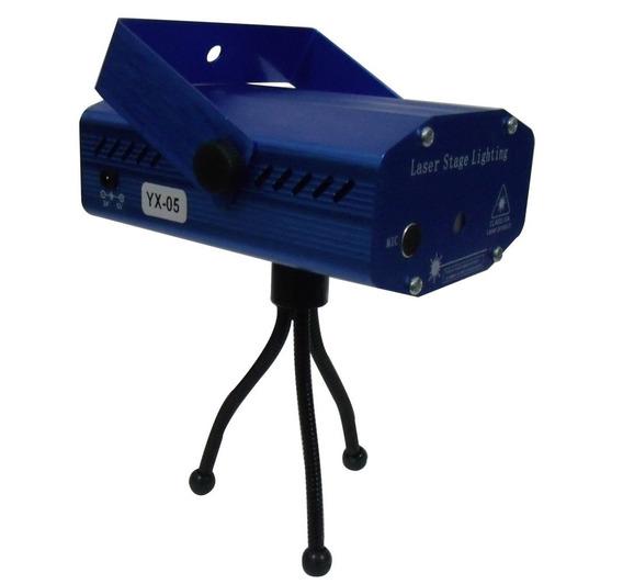 Mini Laser Stage Lighting Projetor Holográfico Para Festas
