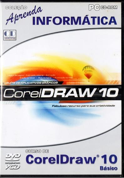 Dvd - Corel Draw 10 Básico - Aprenda Informática