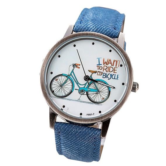 Relógio Bike Vintage