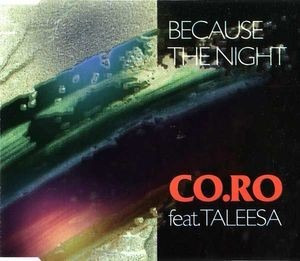 Cd Single Co.ro. Feat Taleesa - Because The Night