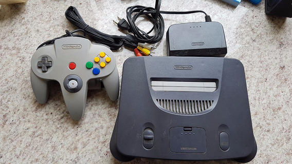 Nintendo 64 Completo Analógico 50%
