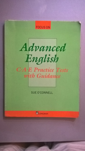 Advanced English - O'connell - Longman