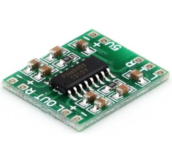 Mini Amplificador Estéreo - 2 X 3 W Rms - 4ohms