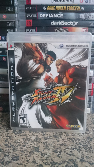 Street Fighter Iv 4 Ps3 Midia Fisica Frete Incluso