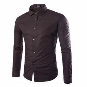 a33d550f9 Camisas de Hombre Marrón en Mercado Libre Argentina