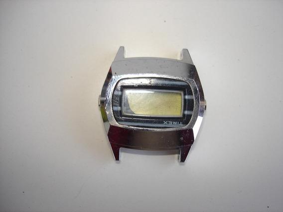 Antigo Relogio Digital Ssq Timex - Quebrado P/ Restauro