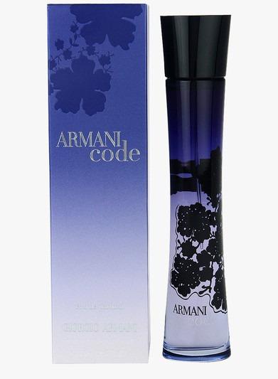 Perfume Armani Code Giorgio Armani Feminino Edp 75ml Fte Gts