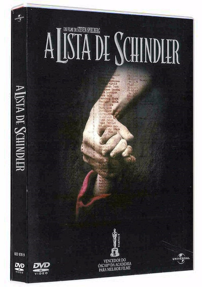 Dvd Filme A Lista De Schindler
